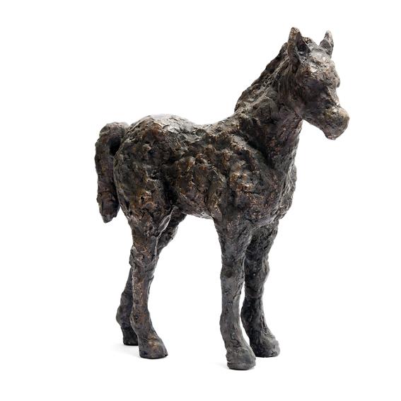 """Billede af Elna Christiansens skulptur """"Pony"""""""